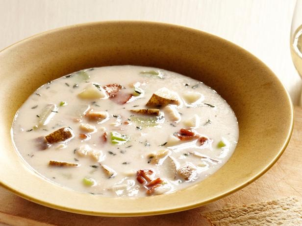New England (a.k.a. Speonk's) Clam Chowder